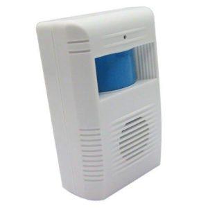 Alarma de puerta con sensor mensaje de bienvenida