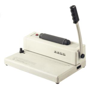 Anilladora Espiralera Encuadernadora Carta, A4 Con Insertador y Espiral 12 mm para 75 hojas (50 unidades)
