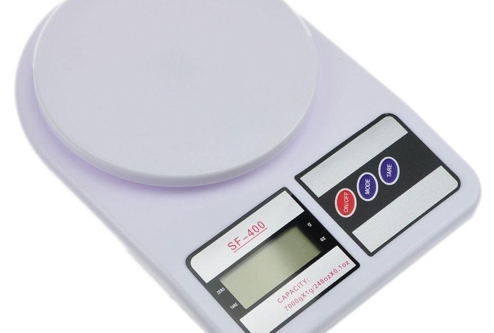 Balanza 7 Kg. / 1 gr. digital de Cocina SF-400