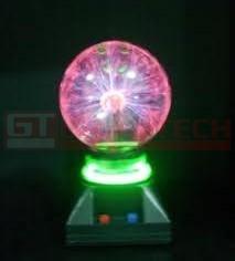 Lámpara esfera plasma