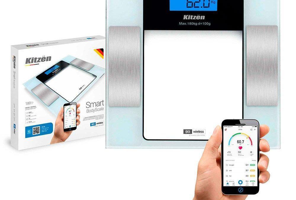 Balanza de Baño C/ Bluetooth  Smart 180Kg
