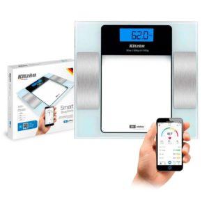 Balanza de Baño C/ Bluetooth  Smart Kitzen180Kg