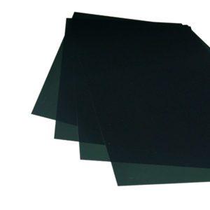 Tapa carta (Gofrada Humo) 300 micrones 50 Pcs ANILLAR
