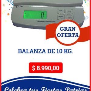 Balanza de 10Kg.